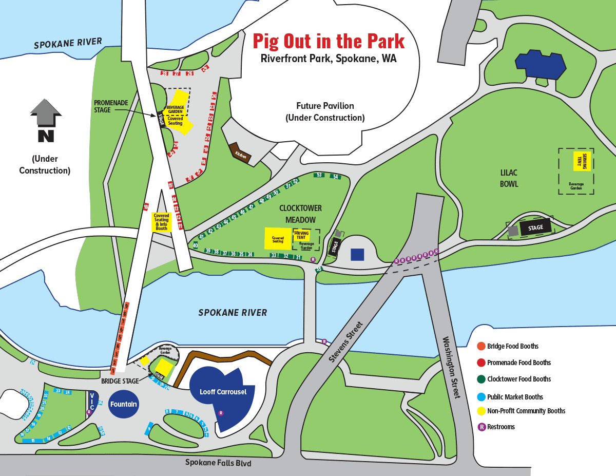pig out in the park map layout