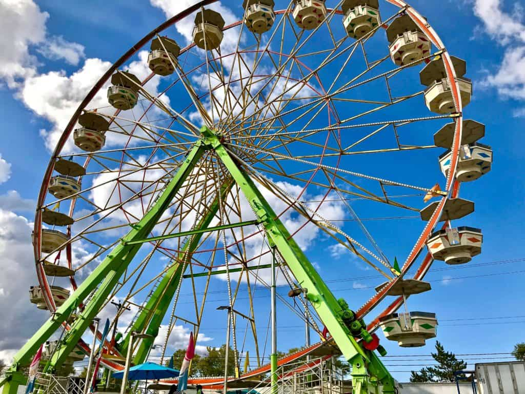 image of Spokane Fair Ferris Wheel