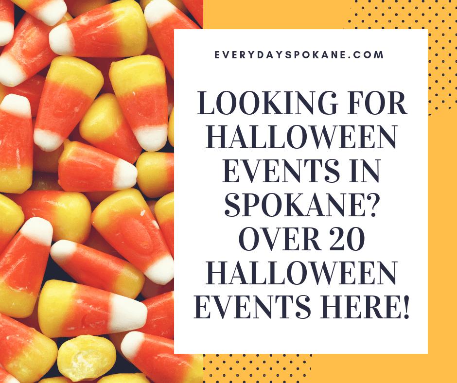image of Halloween events in Spokane