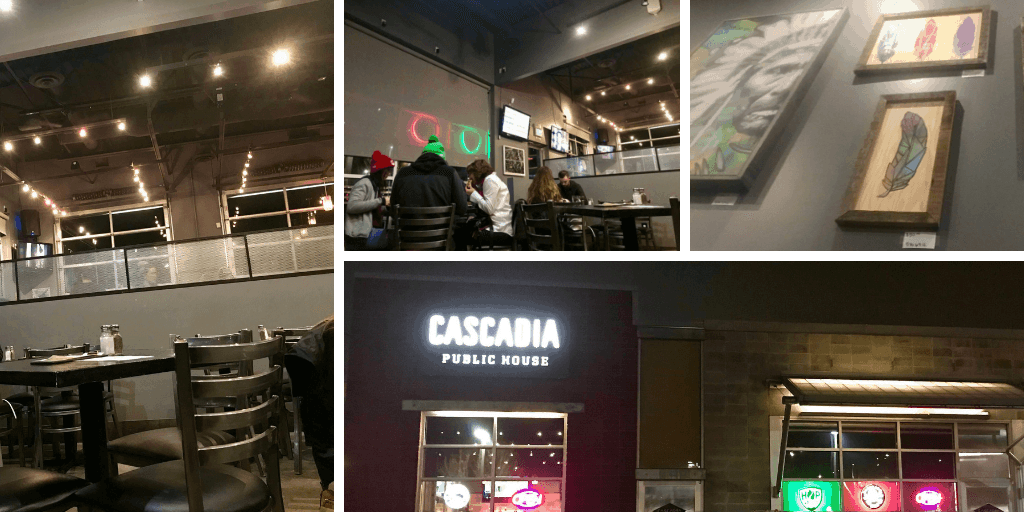 image of Inside and outside of Cascadia Public House