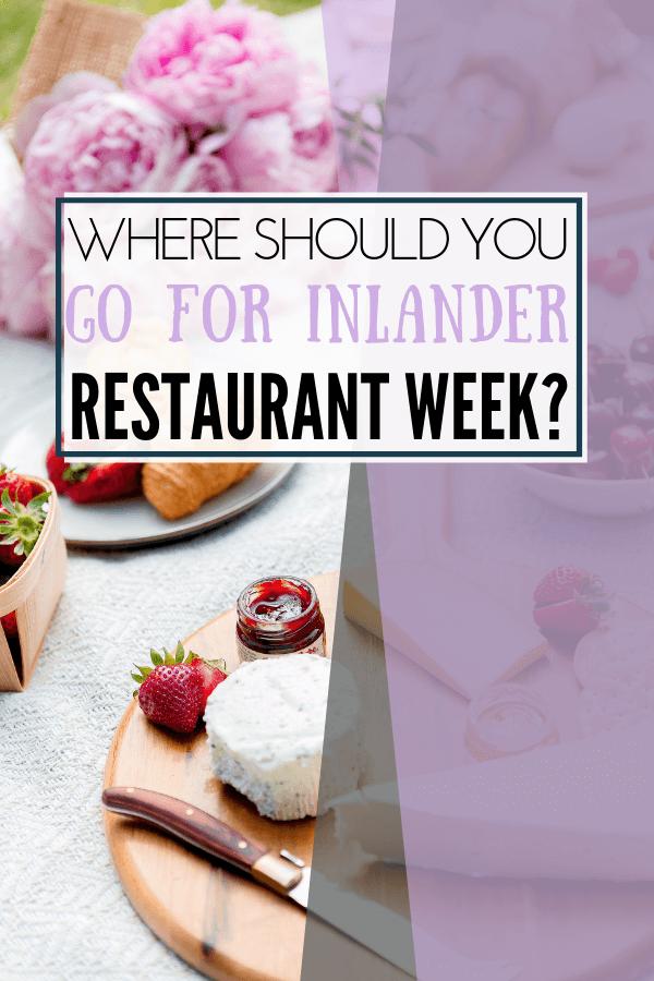 image of spokane restaurant week