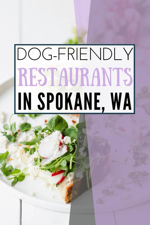 image of dog friendly restaurants in spokane list
