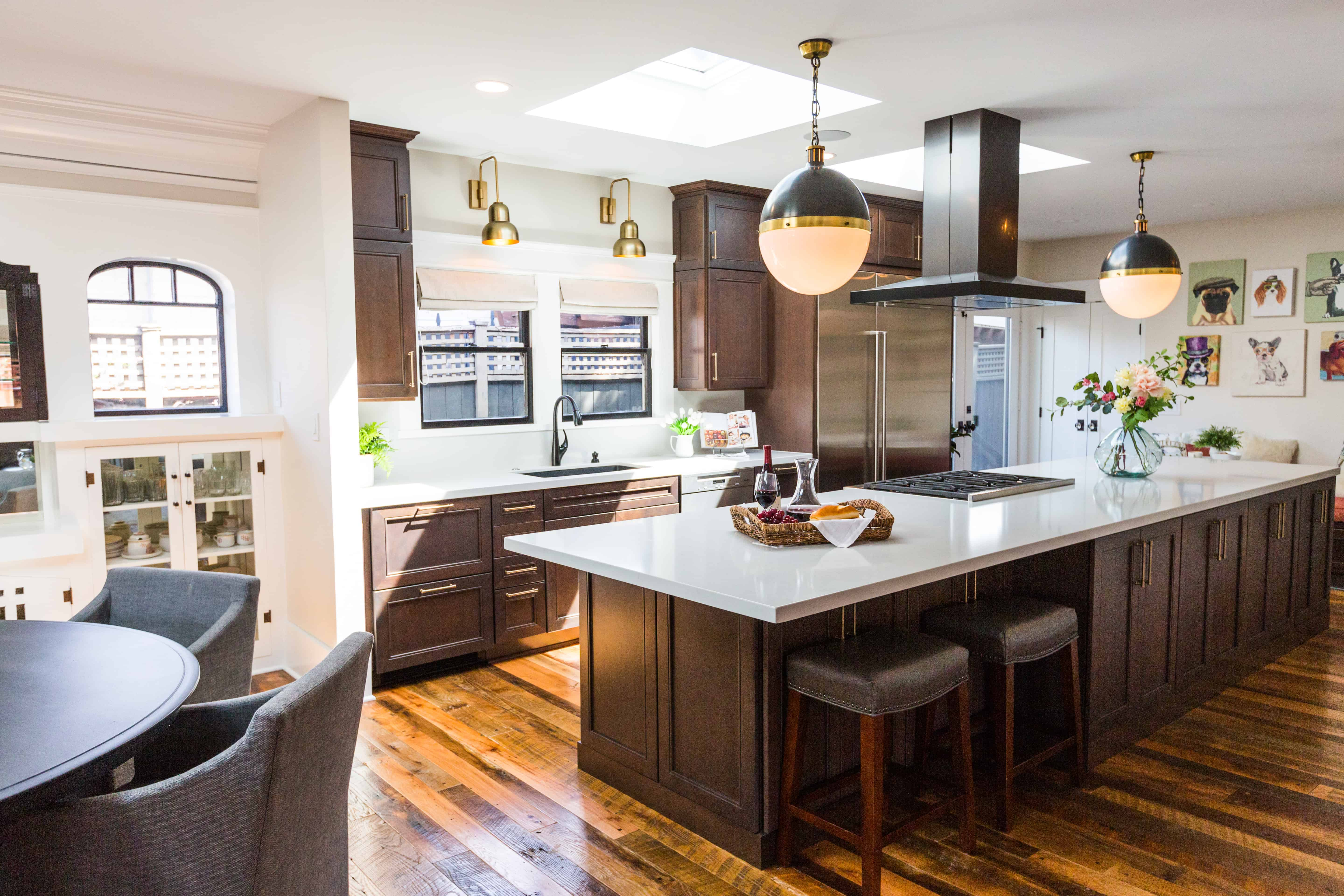 Gorgeous kitchen remodel by Blythe Interiors