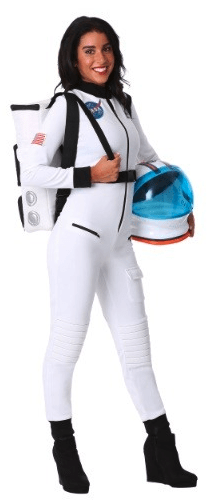 womens astronaut cold weather halloween costume idea
