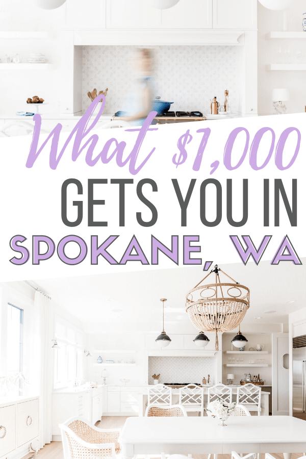 1000 rent in spokane