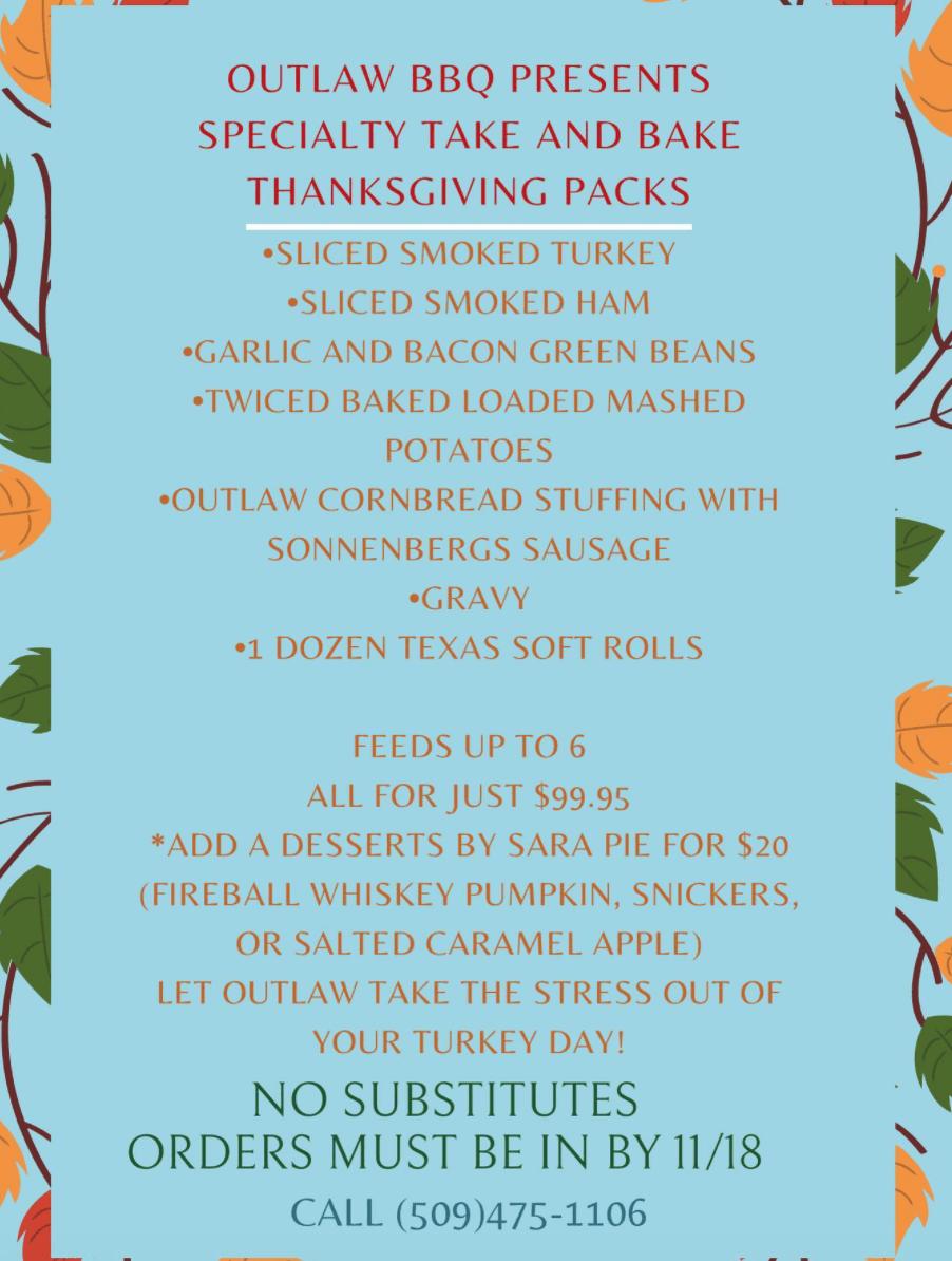 thanksgiving meal in spokane
