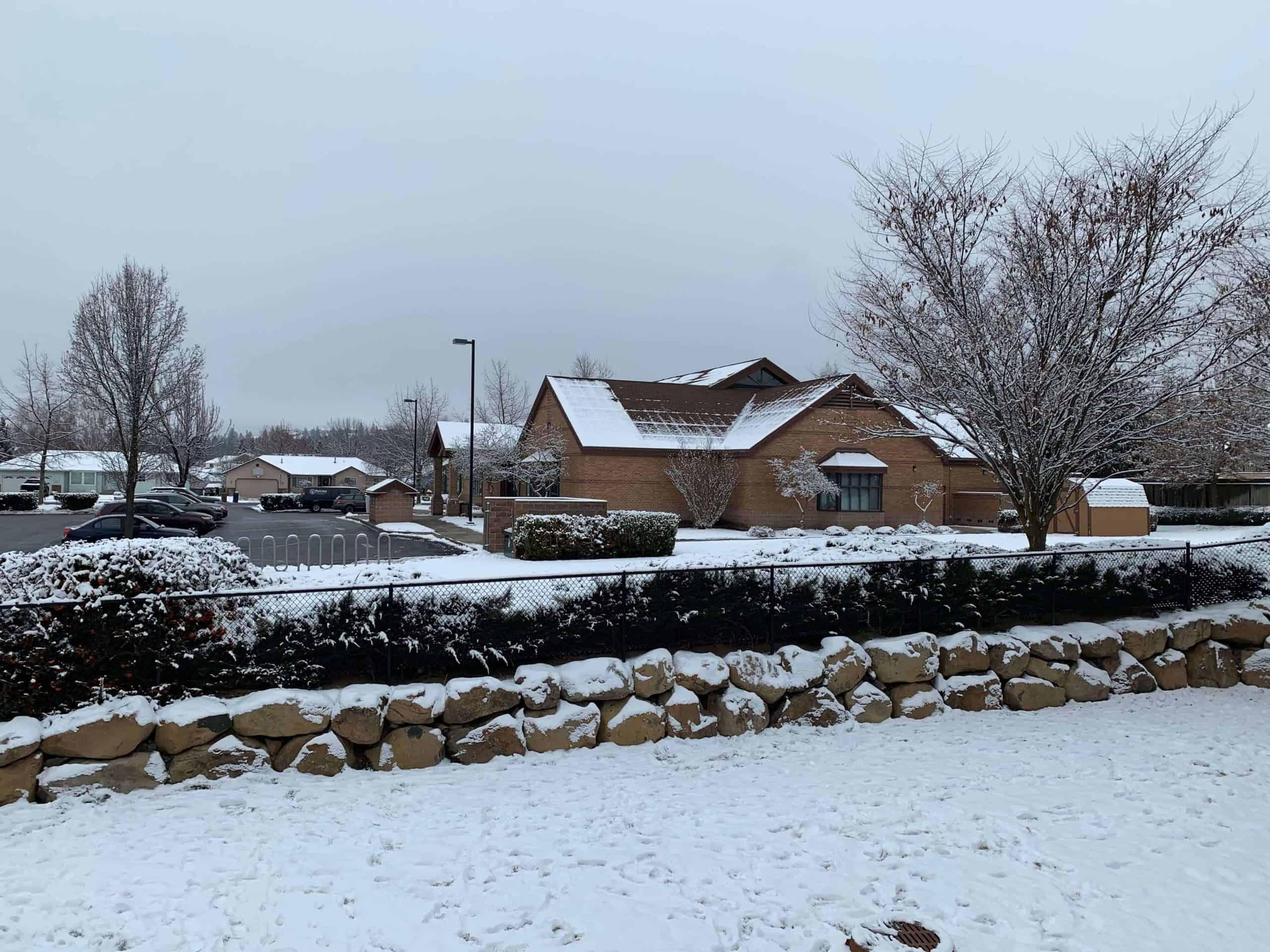 winter in spokane