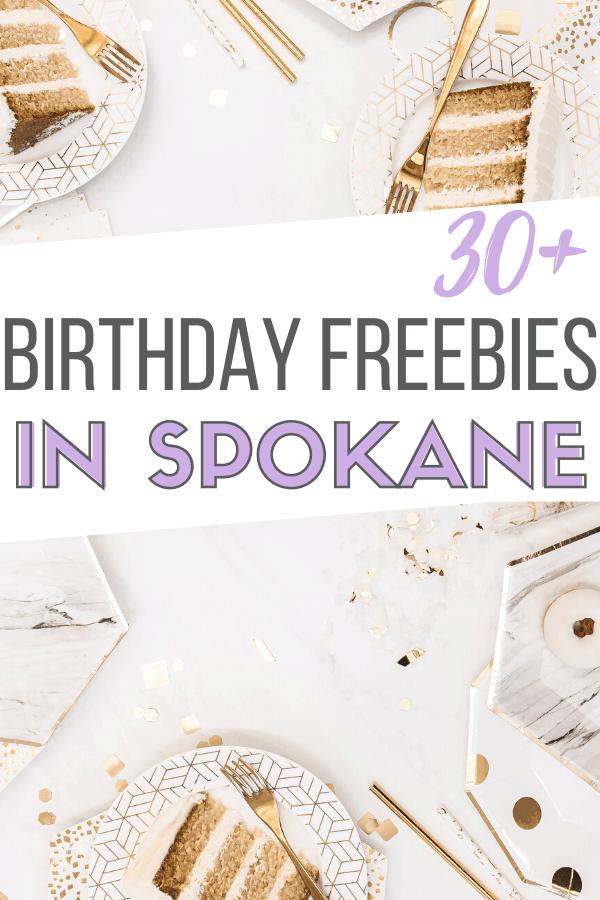 birthday freebies in spokane