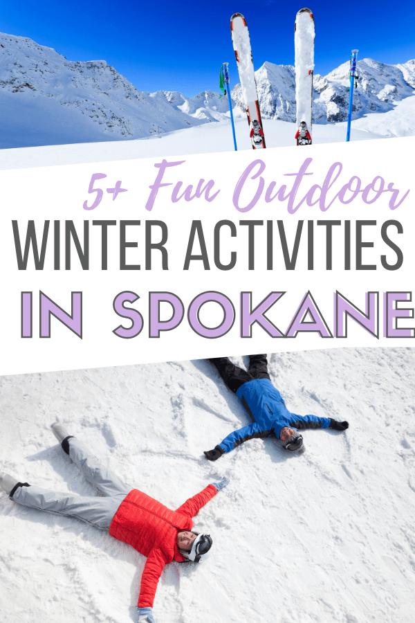 outdoor winter activities in spokane