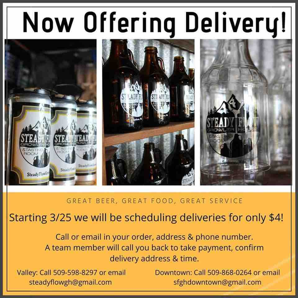 alcohol delivery service in spokane