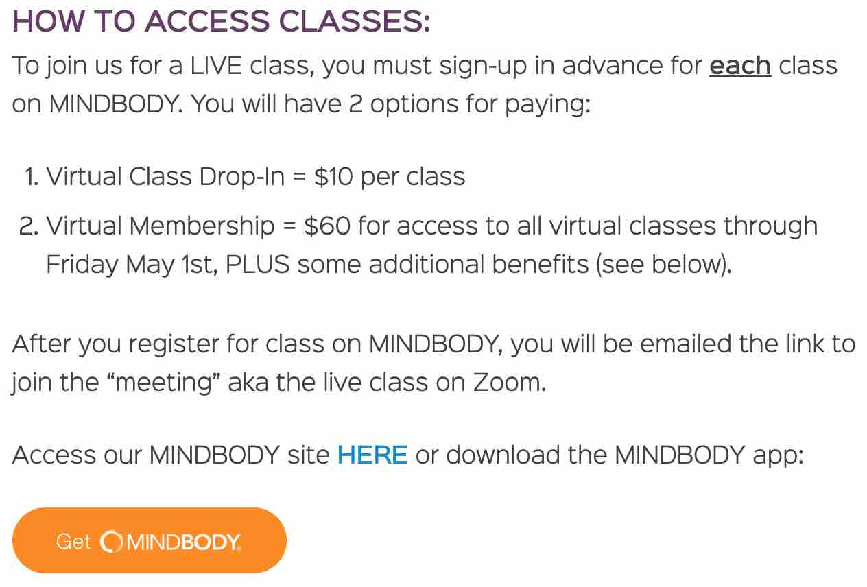 Virtual Fitness Classes from FarmGirlFit