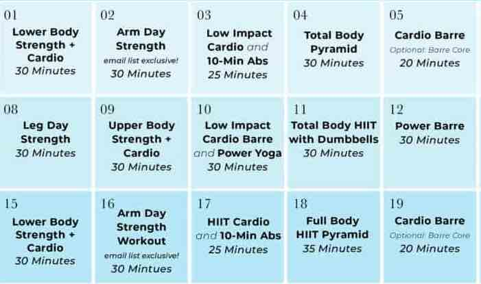 at home workout with weights