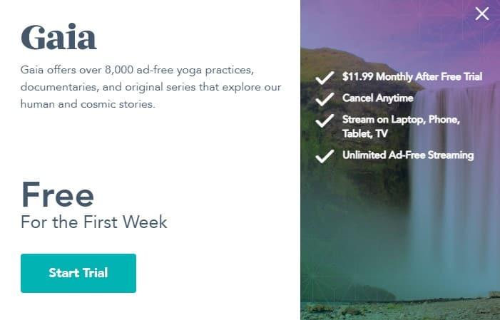 gaia at home yoga