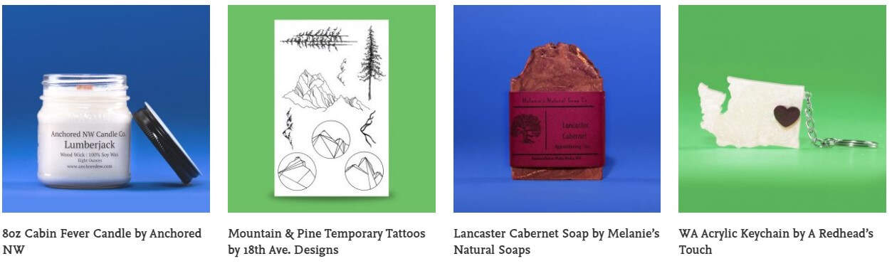 Just a few of the local makers Inland Northwest Trading Co. is working with
