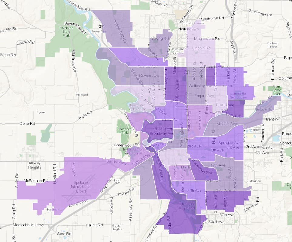 spokane neighborhoods