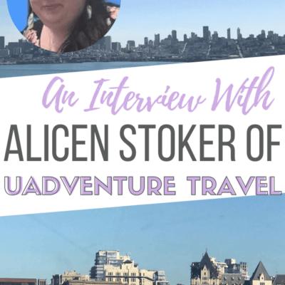 Alicen Stoker of uAdventure Travel