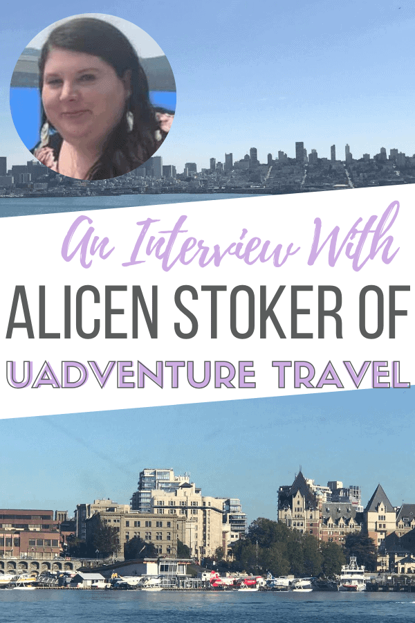 Alicen Stoker of uAdventure Travel