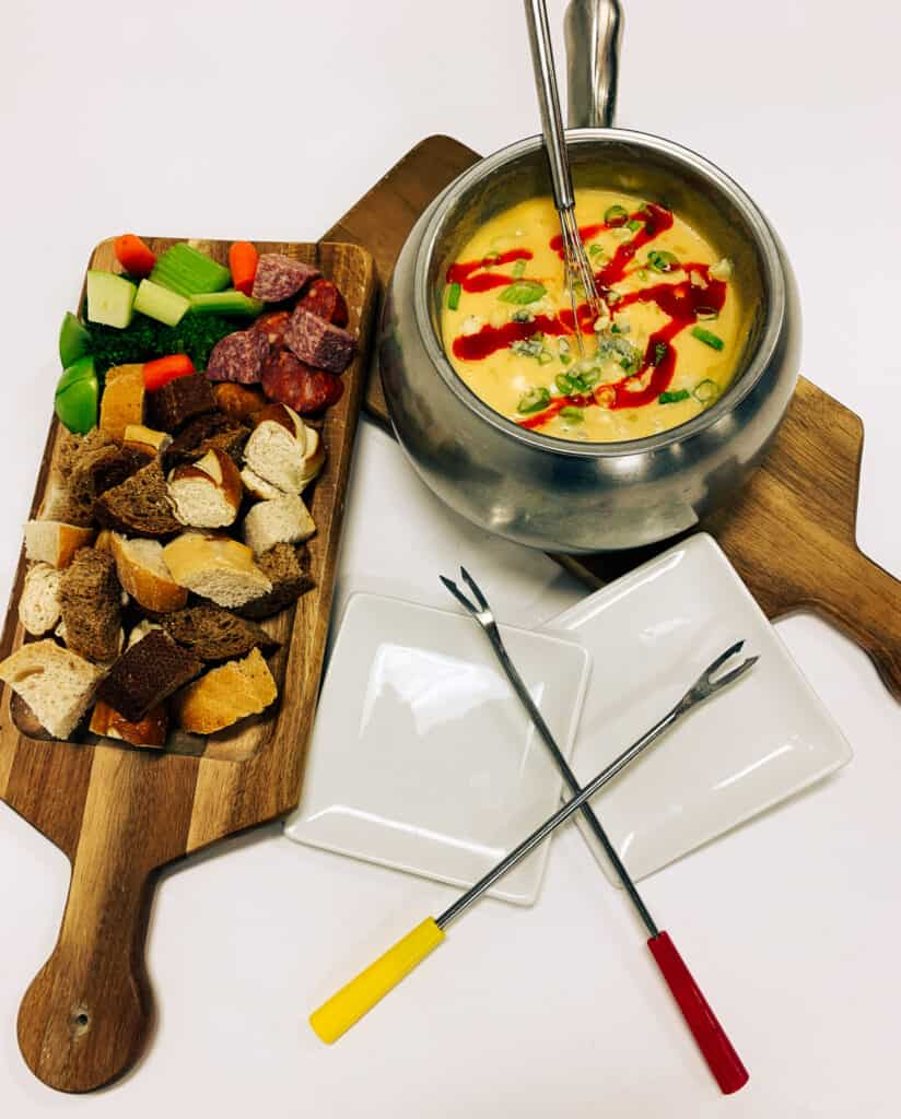 Melting Pot Menu for Spokane Restaurant Week