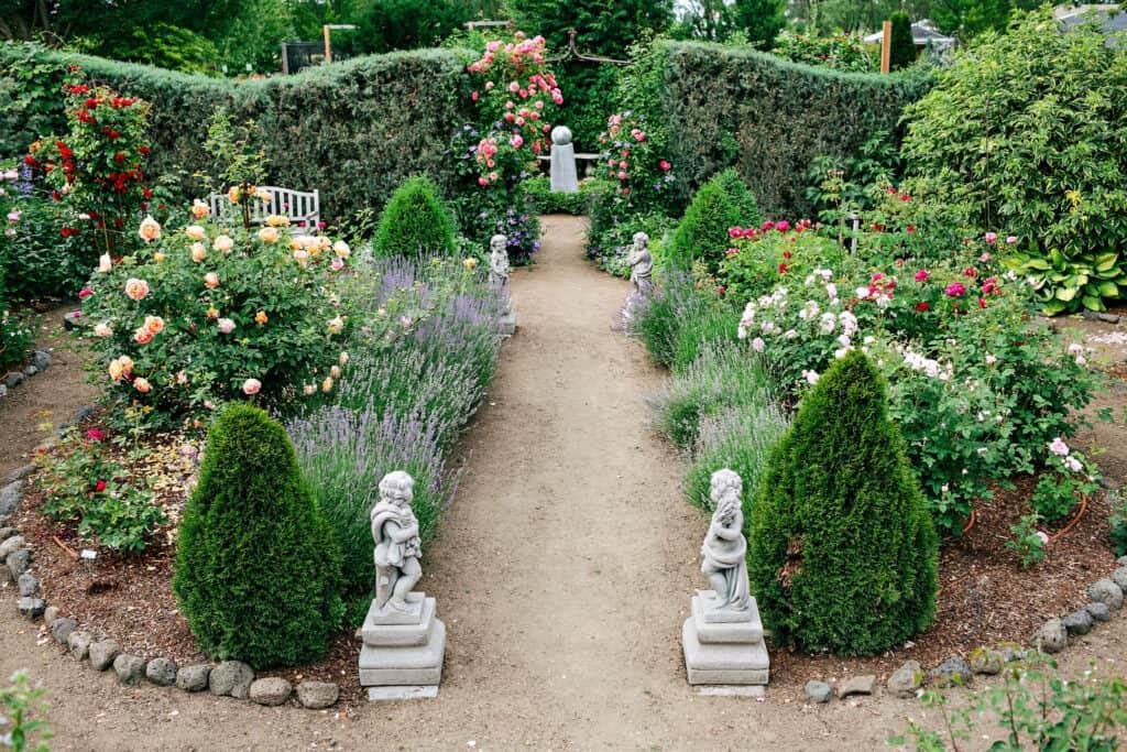 Rosarium Garden Center Spokane