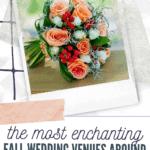 the most enchanting fall wedding venues around spokane, wa
